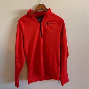 Nike half zip pullover